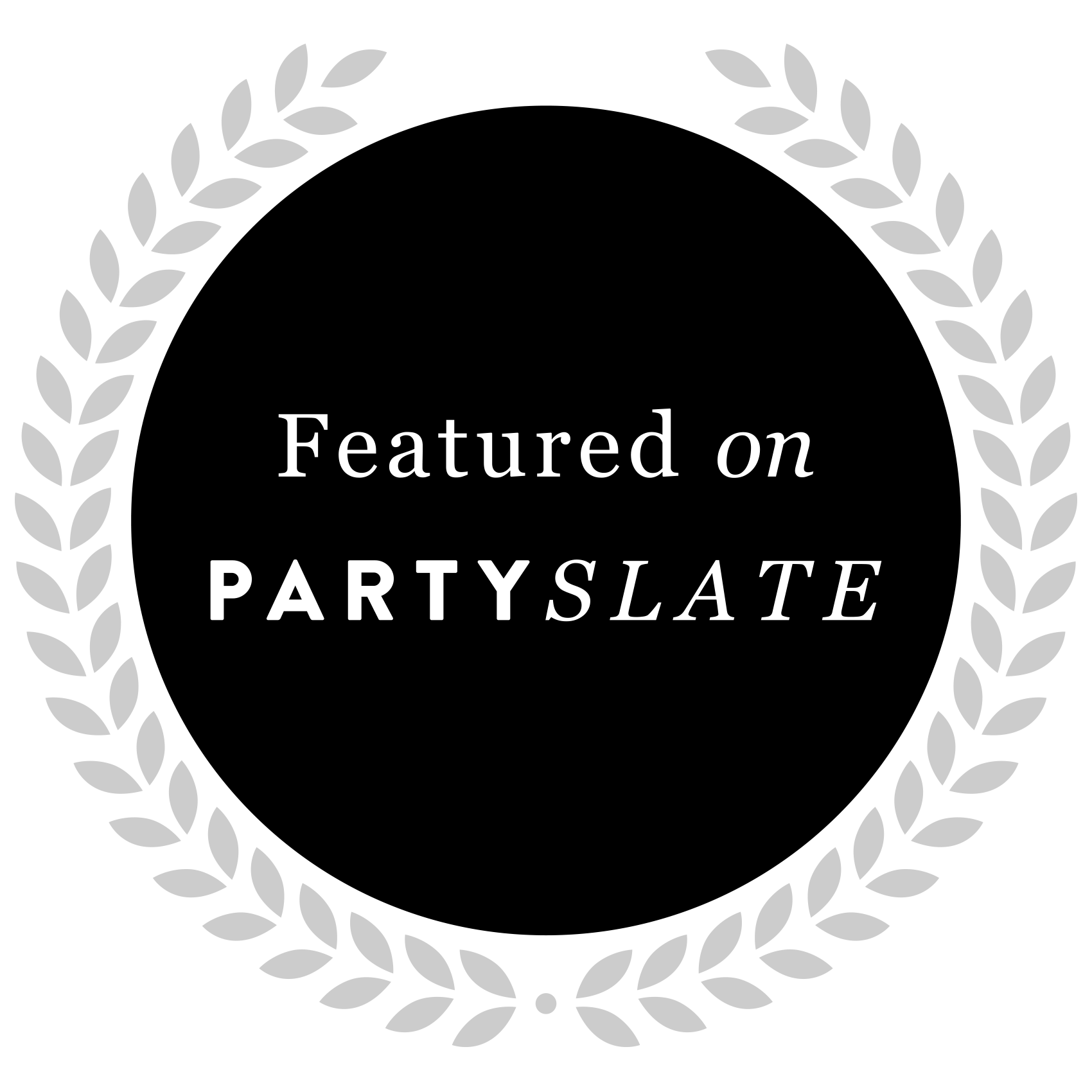 Party Slate Badge