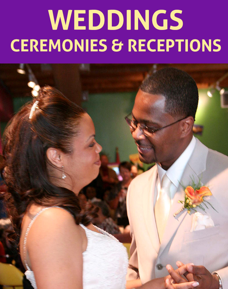 Wedding Ceremony and Reception Venue for Rent