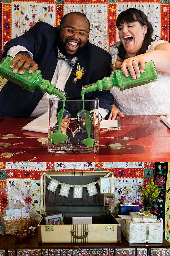 Wedding Fun Touches